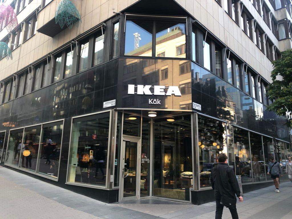 Small Ikea Kök store shopfront