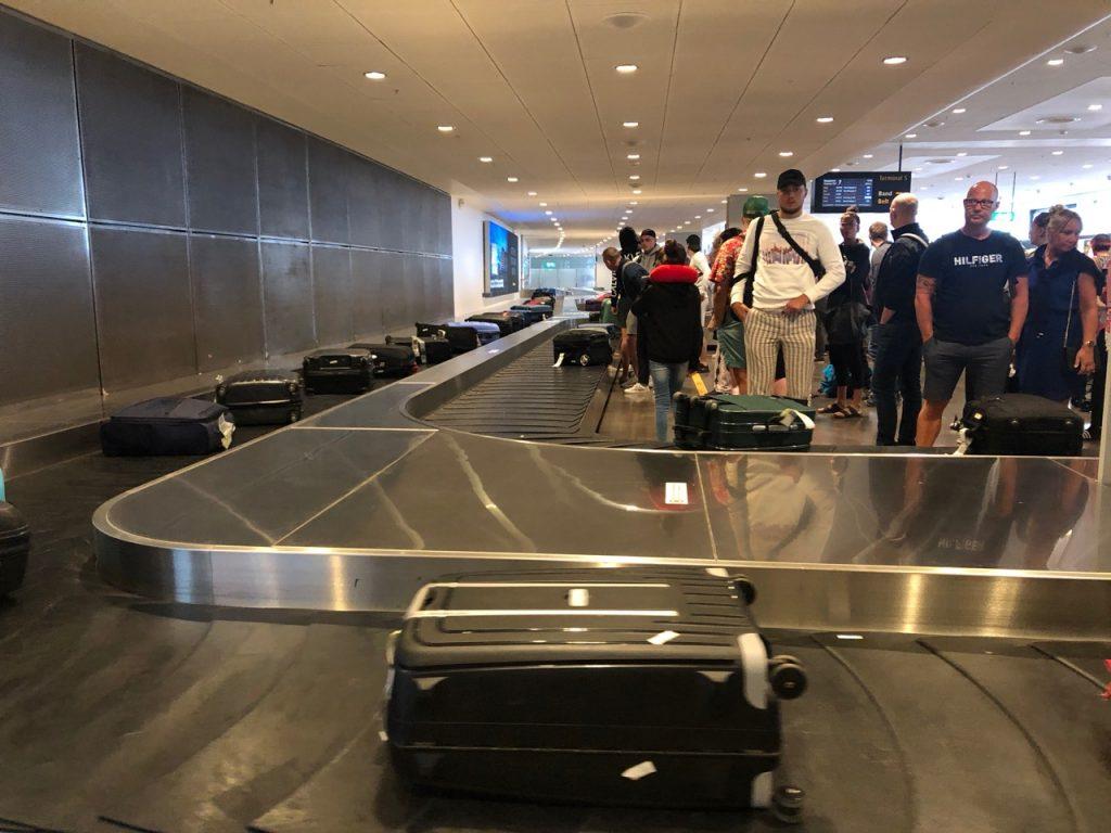 Baggage carousel at Stockholm Arlanda airport